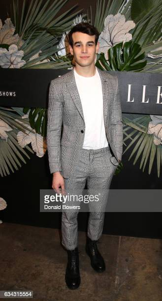 Actor Alberto Rosende attends E ELLE IMG celebration to kickoff NYFW The Shows on February 8 2017 in New York City