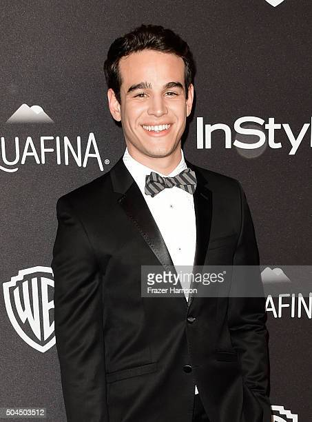 Actor Alberto Rosende attends InStyle and Warner Bros 73rd Annual Golden Globe Awards PostParty at The Beverly Hilton Hotel on January 10 2016 in...