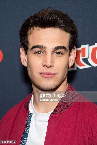 Actor Alberto Rosende attends the Shadowhunters Season 2 QA press room during 2016 New York Comic Con at the Jacob Javitz Center on October 8 2016 in...