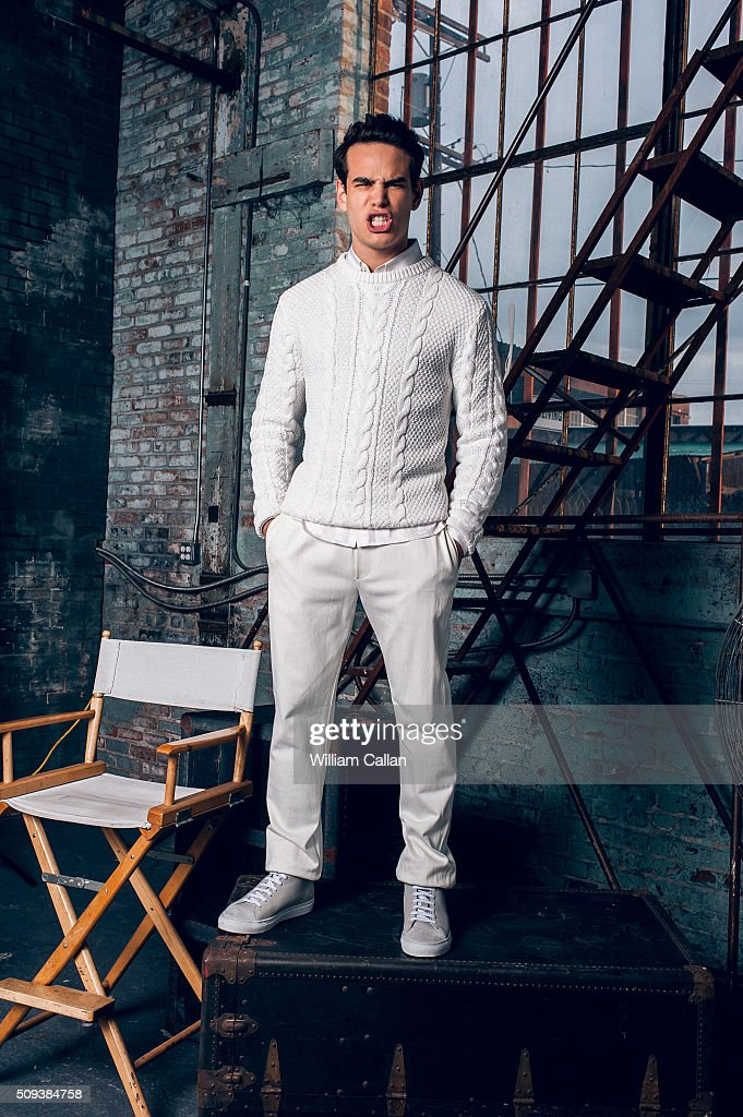 Actor Alberto Rosende of 'Shadow Hunters' is photographed for Bello on January 11, 2016 in Los Angeles, California.