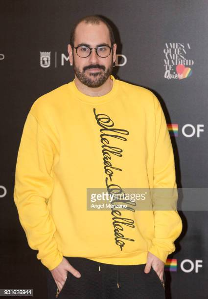 Actor Alberto Velasco attends 'The Best Day Of My Life' Madrid premiere at Callao cinema on March 13 2018 in Madrid Spain