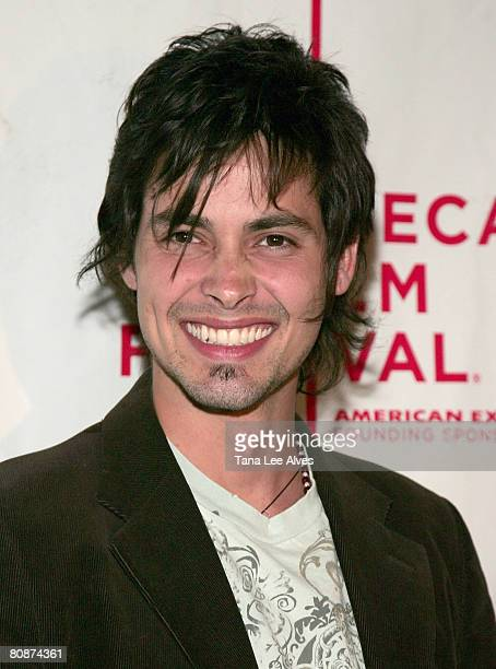 Actor Aldemar Correa attends the 7th Annual Tribeca Film Festival Paraiso Travel Premiere AMC Village 7 April 27 2008 in New York City
