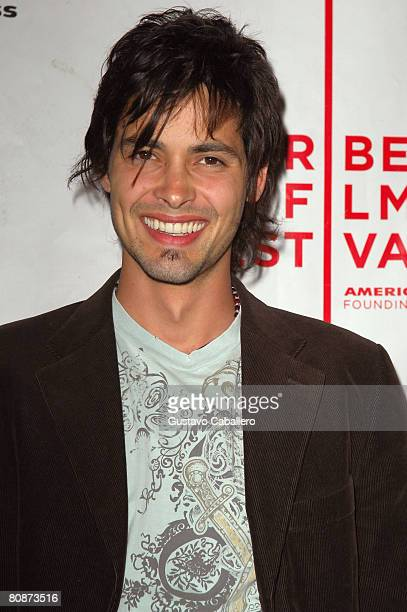 Actor Aldemar Correa attends the premiere of Paraiso Travel during the 2008 Tribeca Film Festival on April 26 2008 in New York City