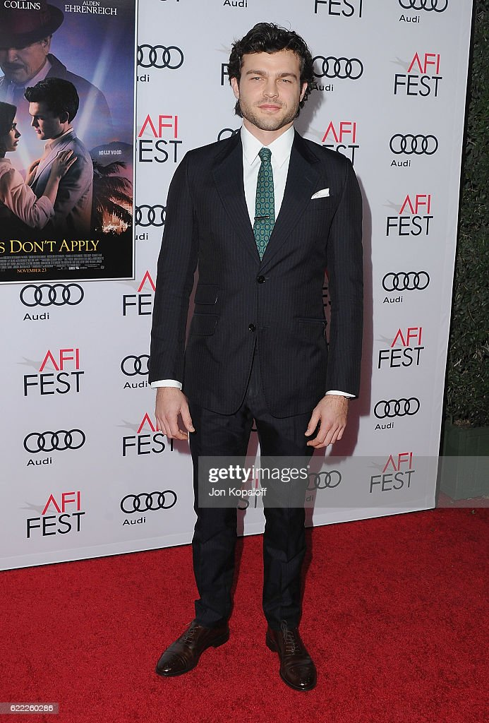 "AFI FEST 2016 Presented By Audi - Opening Night - Premiere Of 20th Century Fox's ""Rules Don't Apply"" - Arrivals"