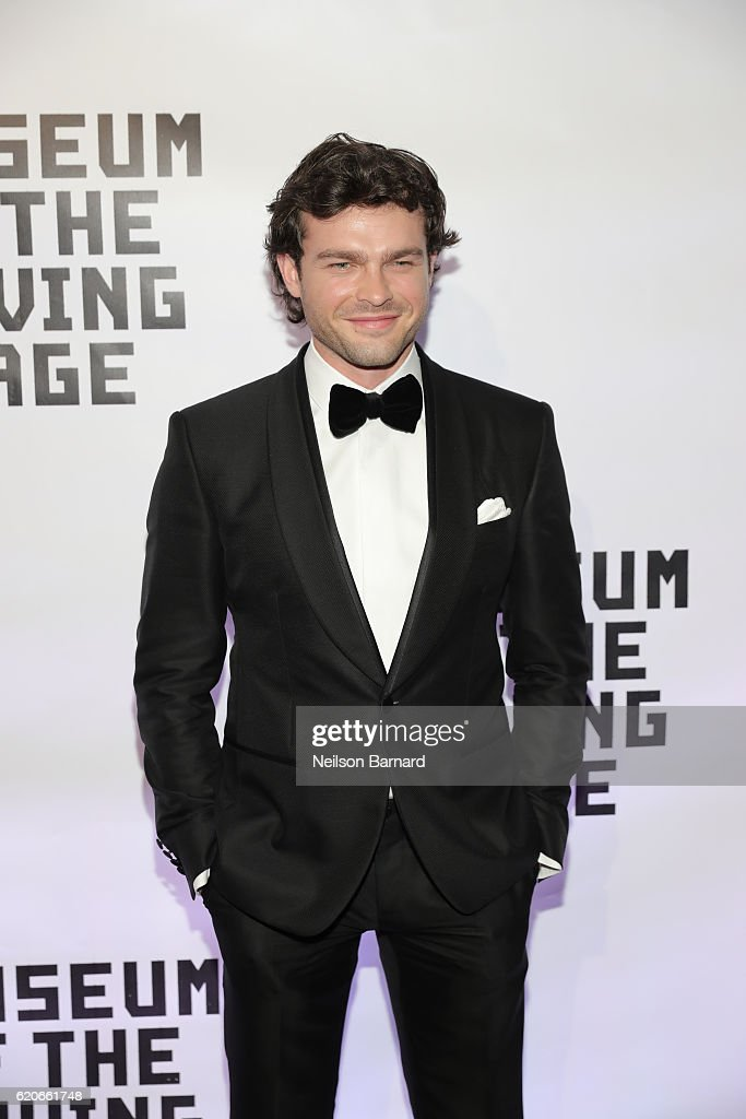 Actor Alden Ehrenreich attends Museum Of The Moving Image 30th Annual Salute honoring Warren Beatty at 583 Park Avenue on November 2, 2016 in New York City.