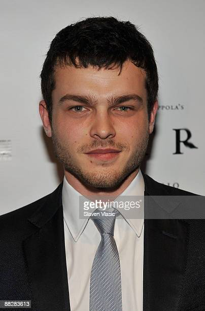 Actor Alden Ehrenreich attends the premiere of TETRO at the Directors Guild Theatre on June 7 2009 in New York City