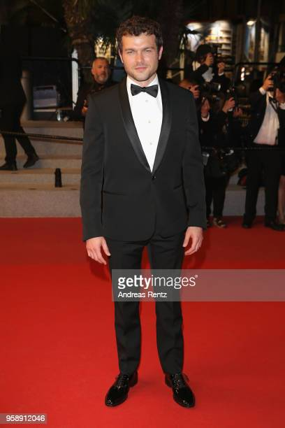 Actor Alden Ehrenreich attends the screening of 'Solo A Star Wars Story' during the 71st annual Cannes Film Festival at Palais des Festivals on May...