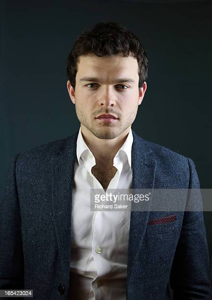 Actor Alden Ehrenreich is photographed for the Observer on January 16 2013 in London England