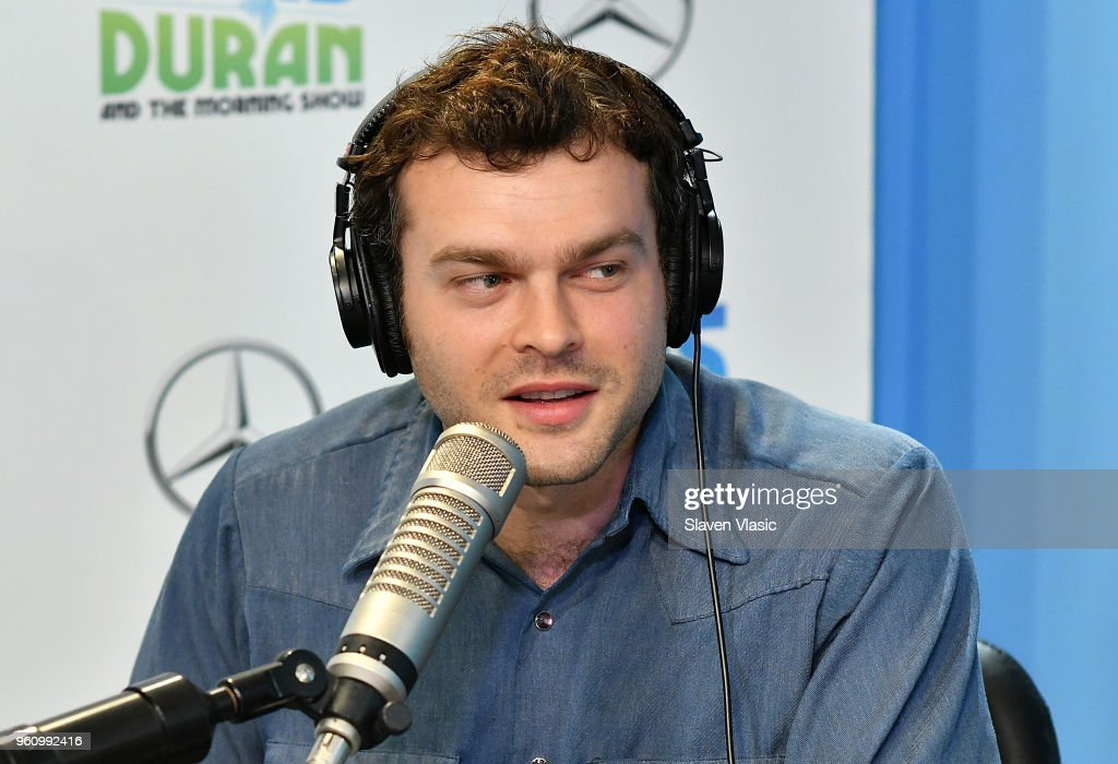 "Alden Ehrenreich Visits ""The Elvis Duran Z100 Morning Show"""