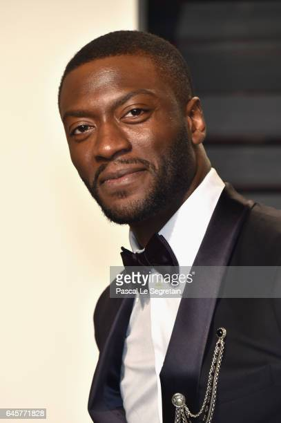 Actor Aldis Hodge attends the 2017 Vanity Fair Oscar Party hosted by Graydon Carter at Wallis Annenberg Center for the Performing Arts on February 26...