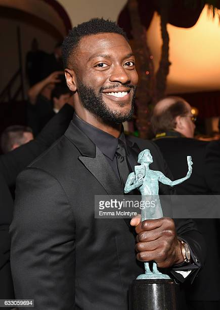 Actor Aldis Hodge attends The 23rd Annual Screen Actors Guild Awards at The Shrine Auditorium on January 29 2017 in Los Angeles California 26592_016