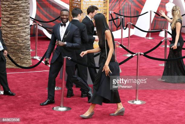 Actor Aldis Hodge attends the 89th Annual Academy Awards at Hollywood Highland Center on February 26 2017 in Hollywood California