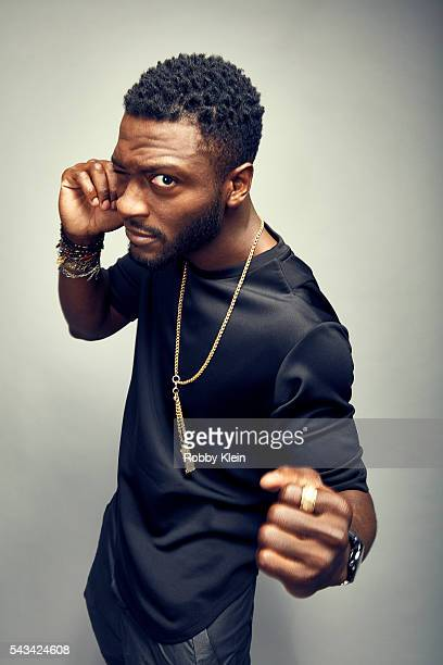 Actor Aldis Hodge is photographed for The Wrap on May 28, 2016 in Los Angeles, California.