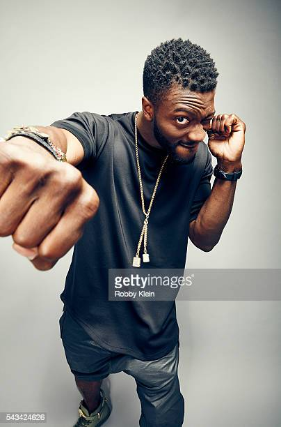 Actor Aldis Hodge is photographed for The Wrap on May 28 2016 in Los Angeles California