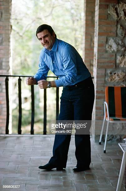Actor Aldo Maccione In Italy Circa 1970