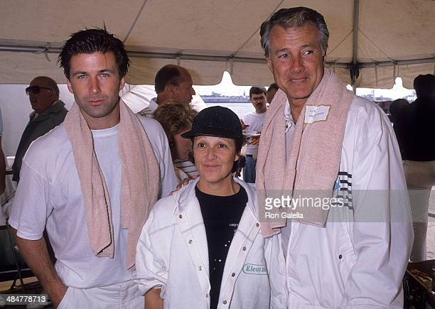 Actor Alec Baldwin actress Linda Lavin and actor Lyle Waggoner attend the Third Annual Franciscan Health Care Games to Benefit the Franciscan Sisters...