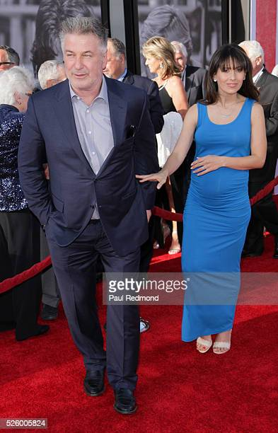 Actor Alec Baldwin and his wife Hilaria Baldwin arriving at the TCM Classic Film Festival 2016 Opening Night Gala 40th Anniversary Screening Of All...