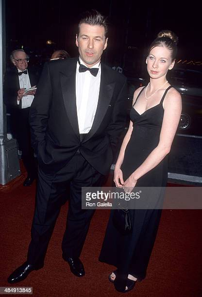 Actor Alec Baldwin and niece Jessica Keuchler attend the 52nd Annual Tony Awards on June 7 1998 at Radio City Music Hall in New York City