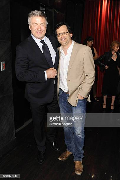 Actor Alec Baldwin and weekend daytime host of Turner Classic Movies Ben Mankiewicz attend the after party for the opening night gala screening of...