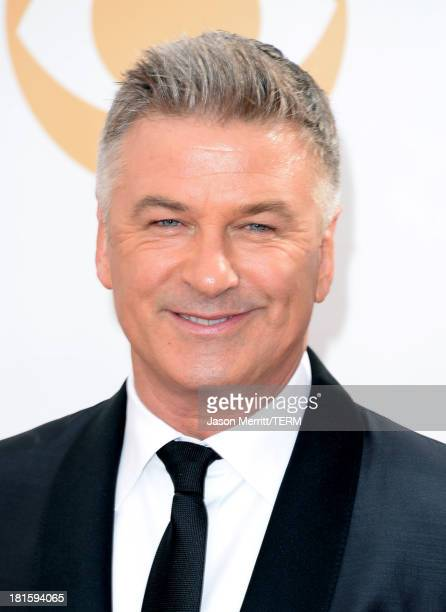 Actor Alec Baldwin arrives at the 65th Annual Primetime Emmy Awards held at Nokia Theatre LA Live on September 22 2013 in Los Angeles California