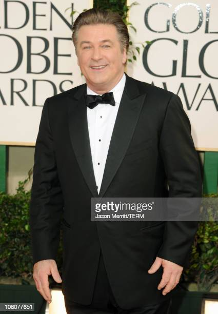 Actor Alec Baldwin arrives at the 68th Annual Golden Globe Awards held at The Beverly Hilton hotel on January 16 2011 in Beverly Hills California