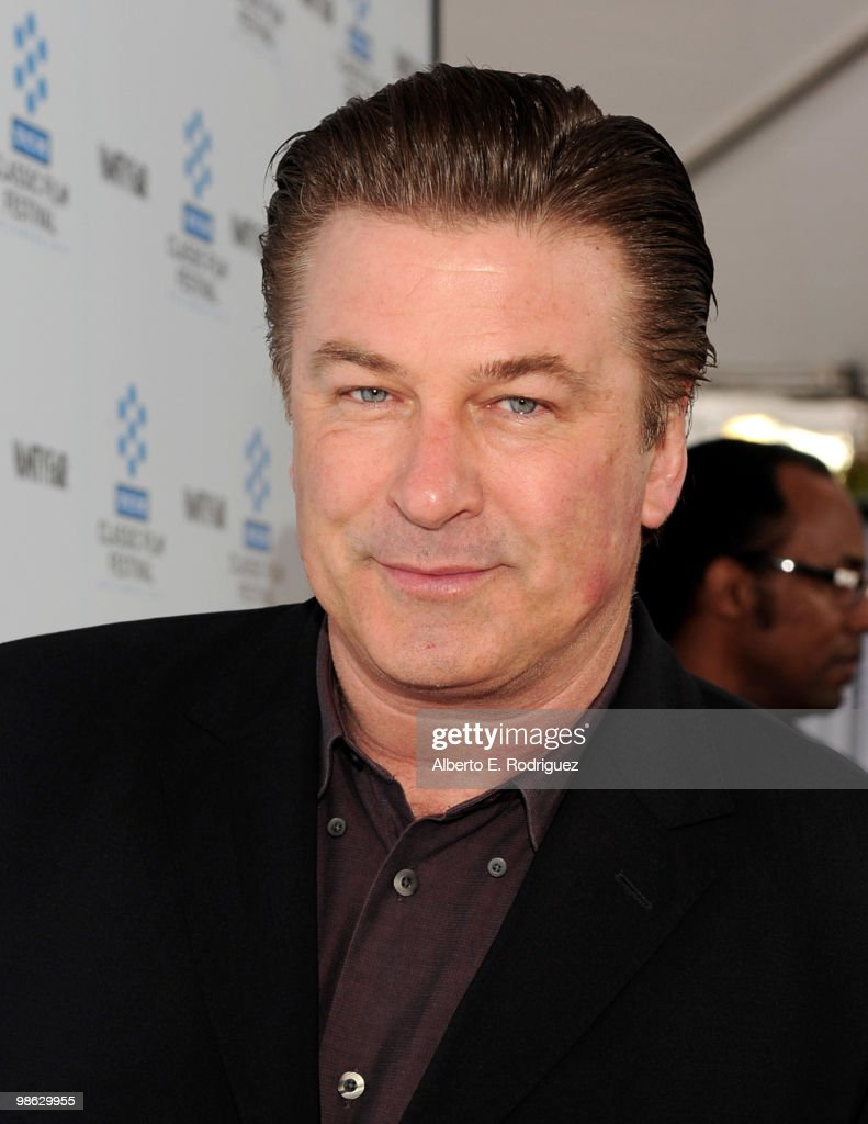 Actor Alec Baldwin arrives at the TCM Classic Film Festival's gala opening night world premiere of the newly restored film 'A Star Is Born' at Grauman's Chinese Theatre on April 22, 2010 in Hollywood, California.