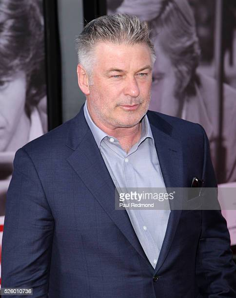 Actor Alec Baldwin arriving at the TCM Classic Film Festival 2016 Opening Night Gala 40th Anniversary Screening Of All The President's Men at TCL...