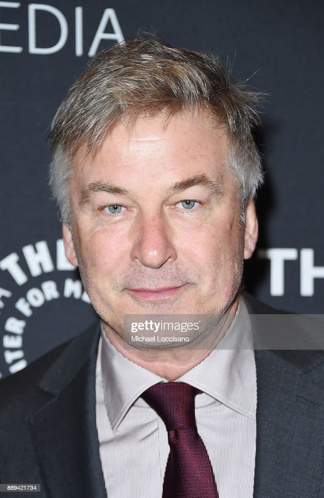 Actor Alec Baldwin attends A Paley Honors Luncheon in his honor at The Paley Center for Media on November 2, 2017 in New York City.