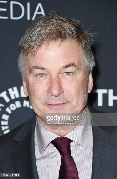 Actor Alec Baldwin attends A Paley Honors Luncheon in his honor at The Paley Center for Media on November 2 2017 in New York City