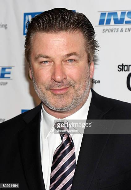 """Actor Alec Baldwin attends """"Stand Up For A Cure: Jerry Seinfeld Live In Concert"""" at WaMu Theater at Madison Square Garden on June 2, 2008 in New York..."""