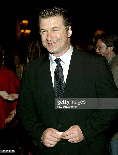 Actor Alec Baldwin attends the 2004 Drama League Awards luncheon and ceremony at the Grand Hyatt May 14 2004 in New York City