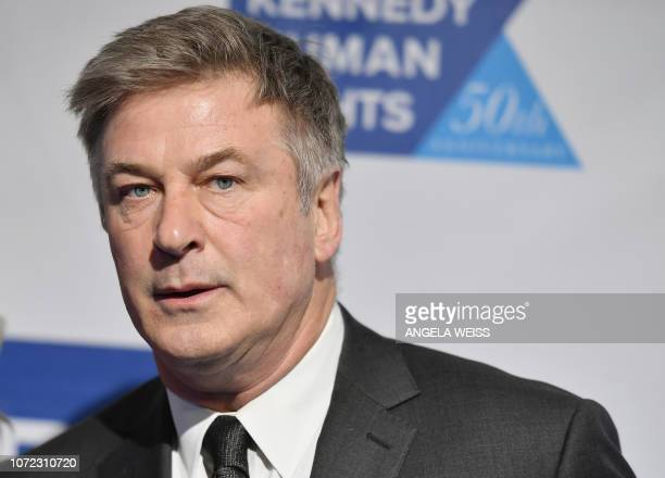 US actor Alec Baldwin attends the 2018 Robert F Kennedy Human Rights' Ripple Of Hope Awards at New York Hilton Midtown on December 12 2018 in New...