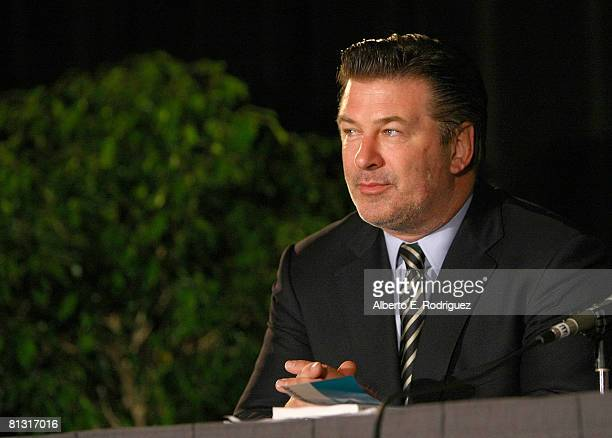 Actor Alec Baldwin attends the BookExpo America 2008 held at the Los Angeles Convention Center on May 31 2008 in Los Angeles California
