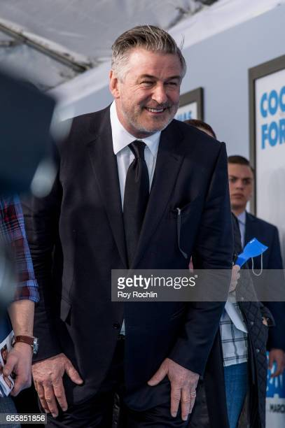 Actor Alec Baldwin attends 'The Boss Baby' New York Premiere at AMC Loews Lincoln Square 13 theater on March 20 2017 in New York City