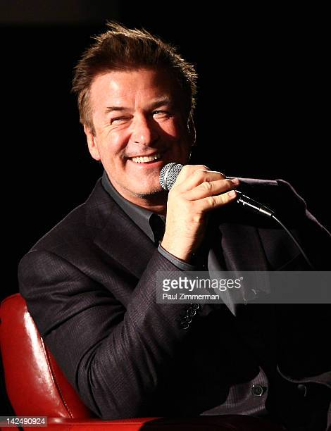 Actor Alec Baldwin attends the Last Tango in Paris screening at The Film Society of Lincoln Center Walter Reade Theatre on April 5 2012 in New York...