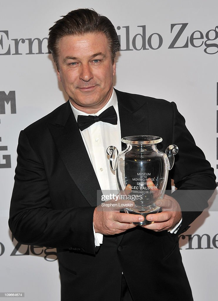 Actor Alec Baldwin attends the Museum of the Moving Image salute to Alec Baldwin at Cipriani 42nd Street on February 28, 2011 in New York City.