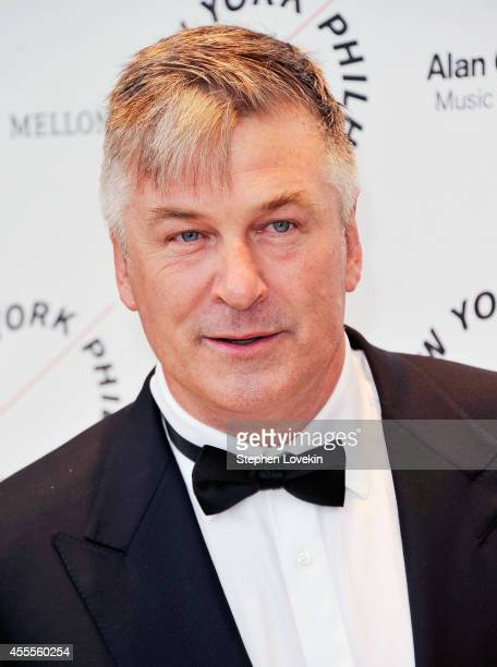 Actor Alec Baldwin attends The New York Philharmonic's 173rd Opening Gala at Avery Fisher Hall at Lincoln Center for the Performing Arts on September...