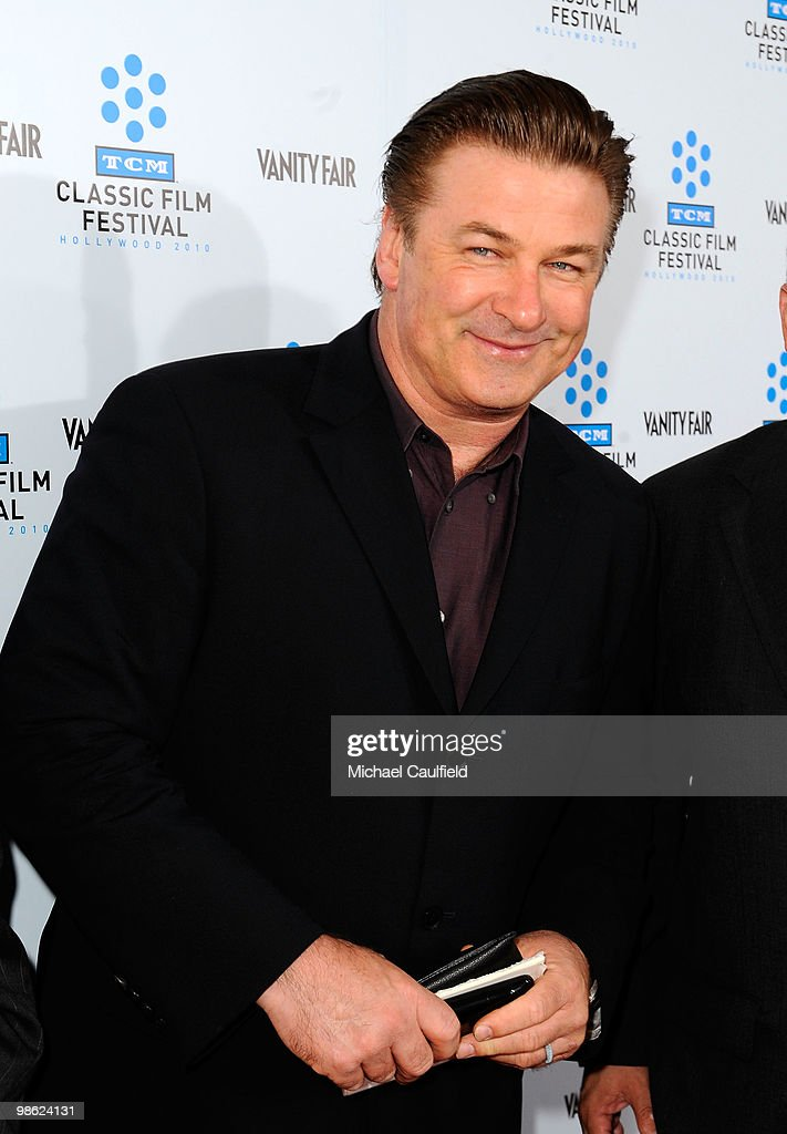 Actor Alec Baldwin attends the Opening Night Gala of the newly restored 'A Star Is Born' premiere at Grauman's Chinese Theatre on April 22, 2010 in Hollywood, California.