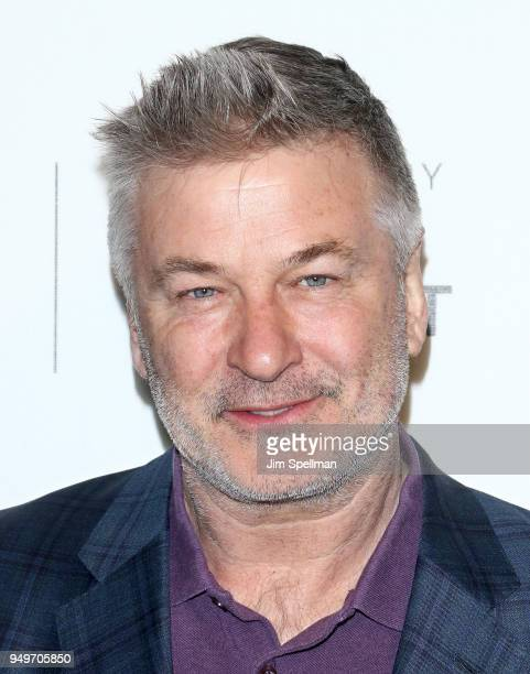 Actor Alec Baldwin attends the premiere of The Seagull during the 2018 Tribeca Film Festival at BMCC Tribeca PAC on April 21 2018 in New York City