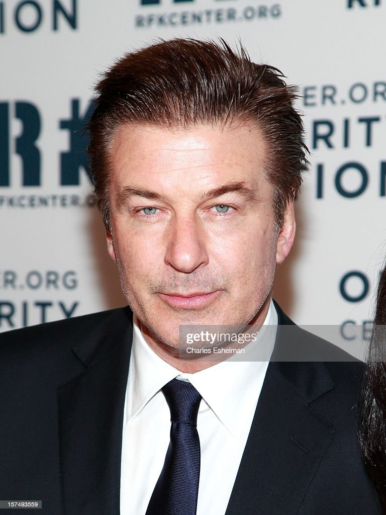 Actor Alec Baldwin attends the Robert F. Kennedy Center for Justice and Human Rights 2012 Ripple of Hope gala at The New York Marriott Marquis on December 3, 2012 in New York City.