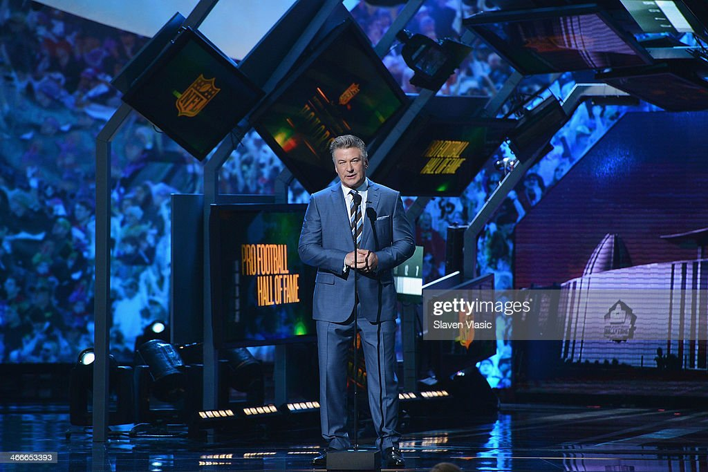 Actor Alec Baldwin hosts the 3rd Annual NFL Honors at Radio City Music Hall on February 1, 2014 in New York City.