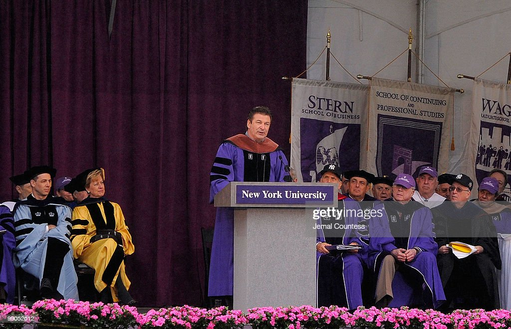 2010 New York University Commencement Photos and Images   Getty Images