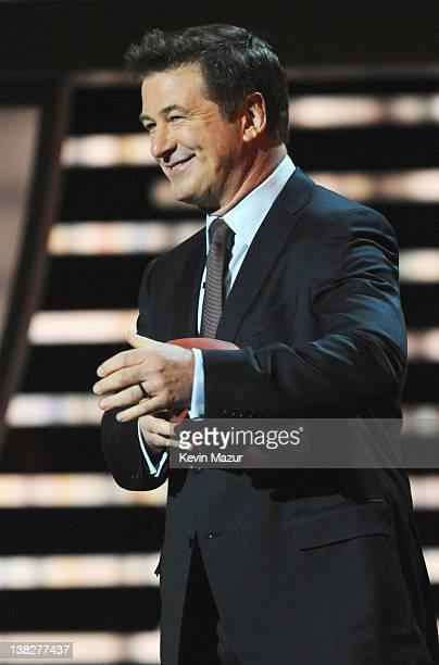 Actor Alec Baldwin speaks onstage at the 2012 NFL Honors at the Murat Theatre on February 4, 2012 in Indianapolis, Indiana.