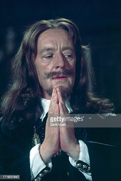 Actor Alec Guinness during the filming of Cromwell on June 101969 in Madrid Spain