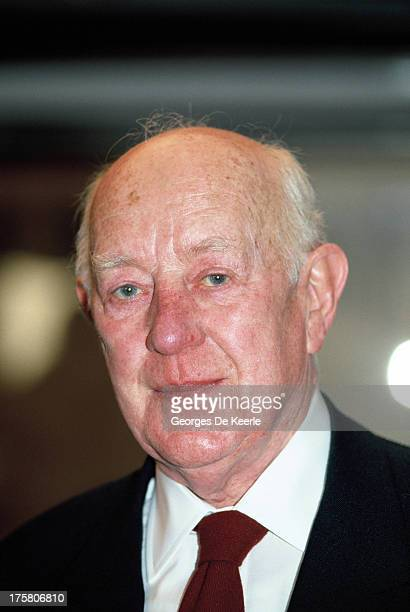 Actor Alec Guinness in 1989 ca in London England