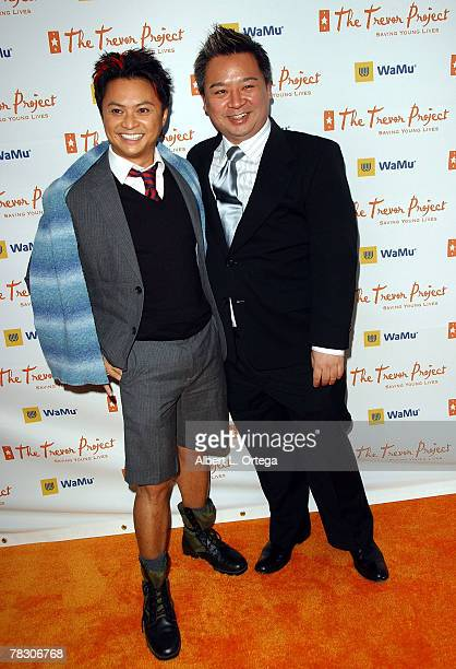Actor Alec Mapa and actor Rex Lee arrives at Cracked Xmas 10 to benefit The Trevor Project at Wiltern Theater on December 2 2007 in Los Angeles...