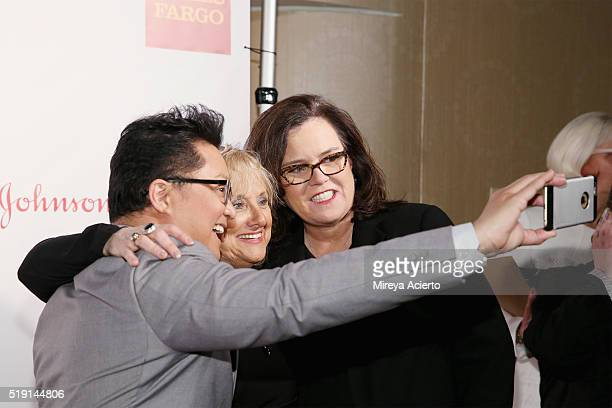 Actor Alec Mapa and comedian Rosie O'Donnell attend the PFLAG National's Eighth Annual Straight for Equality Awards Gala at The New York Marriott...
