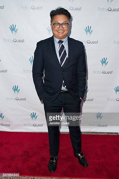 """Actor Alec Mapa arrives at the 2nd Annual """"Let's Make A Baby"""" Fundraiser Gala on May 19, 2016 in Toluca Lake, California."""
