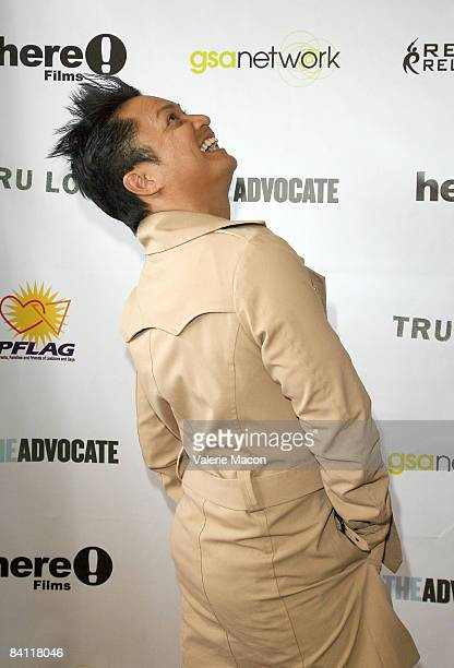 Actor Alec Mapa arrives at the Premiere of Tru Loved at the Regent Showcase Theater on October 11 2008 in Los Angeles California