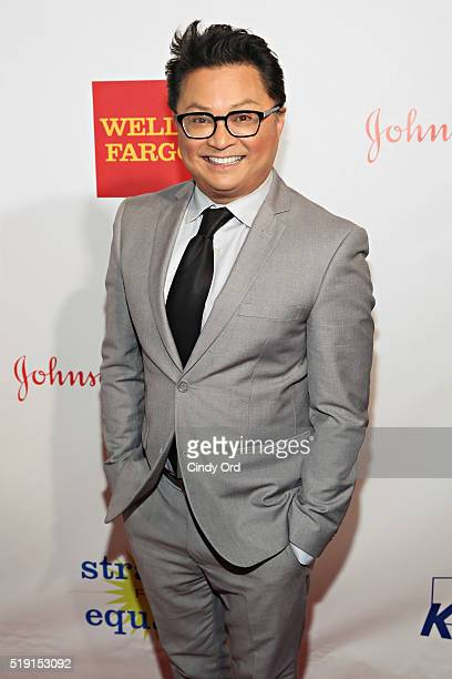 Actor Alec Mapa attends PFLAG National's Eighth Annual Straight for Equality Awards Gala at The New York Marriott Marquis on April 4 2016 in New York...